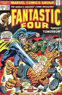 Fantastic Four Vol. 1 (1961-1996) (saddle-stitched) #139