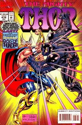 Journey into Mystery / Thor Vol 1 (Comic Book) #476