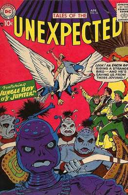 Tales of the Unexpected (1956-1968) (Comic Book) #24