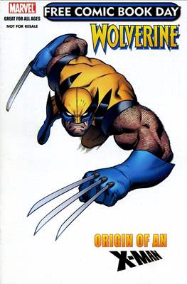 Wolverine: Origin of an X-Man. Free Comic Book Day 2009