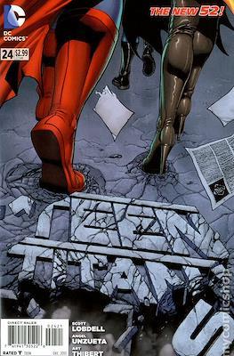 Teen Titans Vol. 4 (2011-2014 Variant Cover) #24