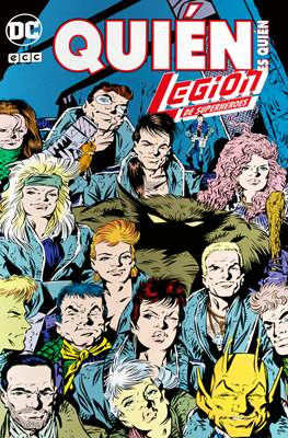 Quién es quién: Legión de Superhéroes (Grapa 80 pp) #