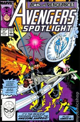 Solo Avengers / Avengers Spotlight (Comic book) #27