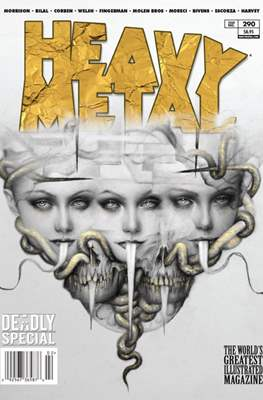 Heavy Metal Magazine (Magazine) #290