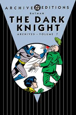 DC Archive Editions. Batman The Dark Knight (Hardcover with dust cover) #7