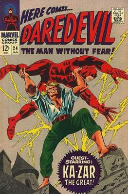 Daredevil Vol. 1 (1964-1998) (Comic Book) #24