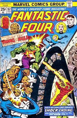 Fantastic Four Vol. 1 (1961-1996) (saddle-stitched) #167