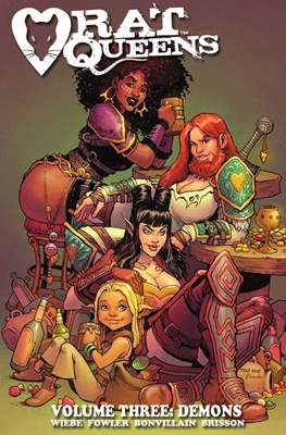 Rat Queens (Softcover) #3