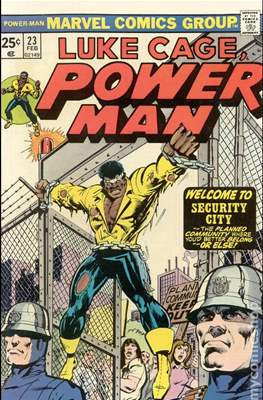 Hero for Hire / Power Man Vol 1 / Power Man and Iron Fist Vol 1 (Comic Book) #23