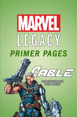 Cable: Marvel Legacy Primer Pages