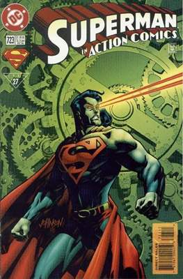 Action Comics Vol. 1 (1938-2011; 2016-) (Comic Book) #723