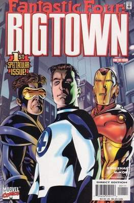 Fantastic Four Big town (Grapa) #1