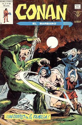 Conan el Bárbaro Vol. 2 (Grapa) #40