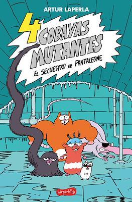 4 cobayas mutantes (Rústica 104 pp) #1