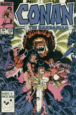 Conan The Barbarian (1970-1993) (Comic Book 32 pp) #152