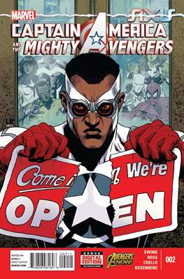 Captain America and the Mighty Avengers (Comic-Book) #2
