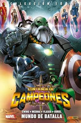 Contienda de Campeones. 100% Marvel