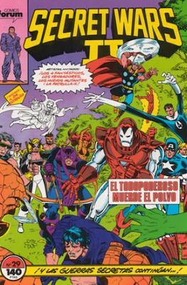 Secret Wars (1985-1987) (Grapa 32 pp) #29