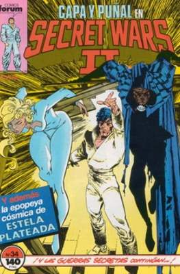 Secret Wars (1985-1987) (Grapa 32 pp) #34