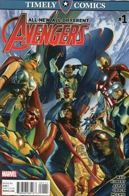 Timely Comics All-New All-Different Avengers