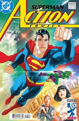 Action Comics Vol. 1 (1938-2011; 2016-... Variant Covers) (Comic Book) #1000.5