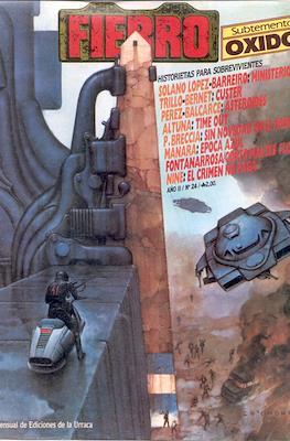 Fierro (Grapa (1984-1992) Primera época) #24