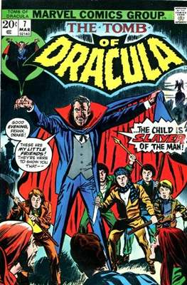 The Tomb of Dracula Vol. 1 (1972-1979) #7