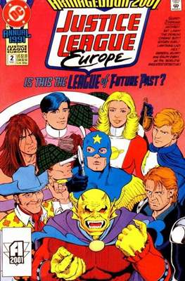 Justice League Europe Annual (grapa) #2