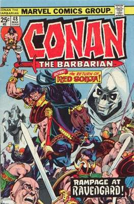 Conan The Barbarian (1970-1993) (Comic Book 32 pp) #48
