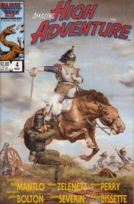 Amazing High Adventure (1984-1986) (Comic book 48 pp) #4