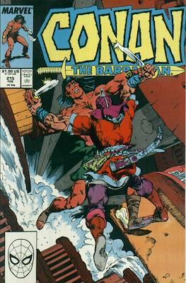 Conan The Barbarian (1970-1993) (Comic Book 32 pp) #215