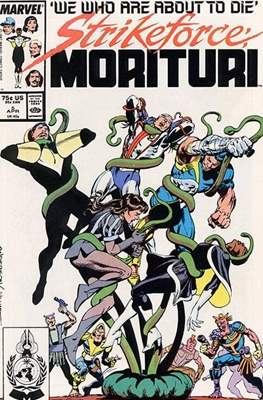 Strikeforce Morituri (Comic-book.) #5
