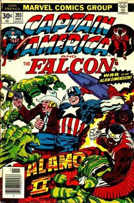 Captain America Vol. 1 (1968-1996) (Comic Book) #203