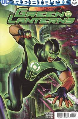 Green Lanterns (Vol. 1 2016-... Variant Covers) (Comic Book) #29