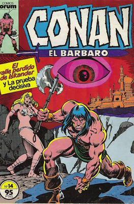 Conan el Bárbaro (1983-1994) (Grapa. 19x27. 36/32/24 páginas. Color.) #14