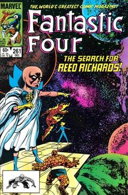 Fantastic Four Vol. 1 (1961-1996) (saddle-stitched) #261