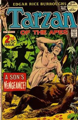 Tarzan (Comic-book) #208