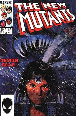 The New Mutants (Comic Book) #18