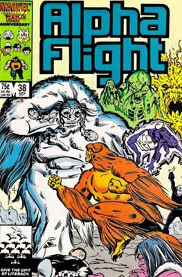 Alpha Flight Vol. 1 (1983-1994) (Comic Book) #38