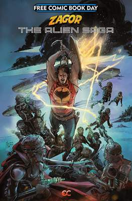 Zagor The Alien Saga Free Comic Book Day 2019