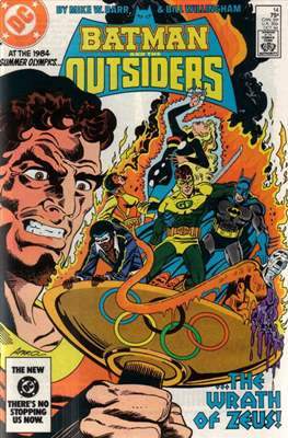 Batman and the Outsiders (1983-1987) (Comic Book) #14