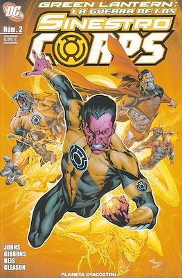Green Lantern. La guerra de los Sinestro Corps (Grapa 96 pp) #2
