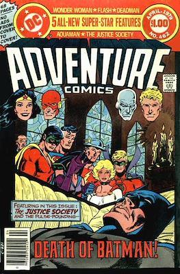 New Comics / New Adventure Comics / Adventure Comics (1935-1983; 2009-2011) (Saddle-Stitched) #462