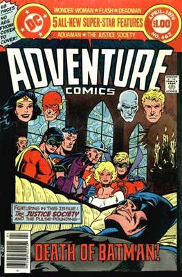 New Comics / New Adventure Comics / Adventure Comics (1935-1983 ; 2009-2011) (Comic Book) #462
