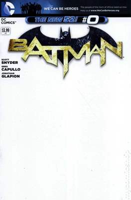 Batman Vol. 2 (2011-2016 Variant Covers) (Comic Book) #0.1