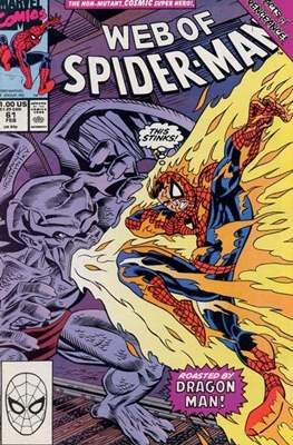 Web of Spider-Man Vol. 1 (1985-1995) (Comic-book) #61