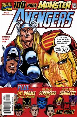 The Avengers Vol. 3 (1998-2004) (Comic-Book) #27