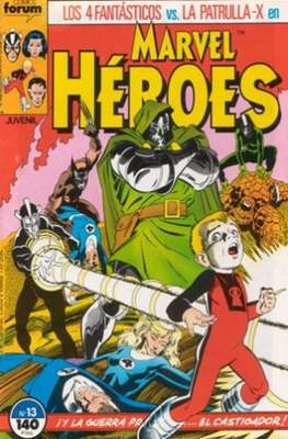 Marvel Héroes (1986-1993) (Grapa 32 pp) #13