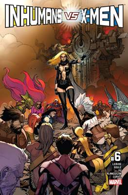Inhumans vs. X-Men #6