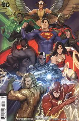 Justice League Vol. 4 (2018- Variant Covers ) (Comic Book) #14